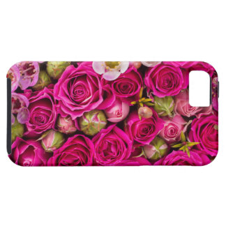 Pretty pink flower phone case