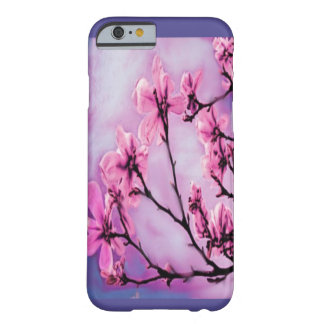 Pretty Pink Flowers Barely There iPhone 6 Case