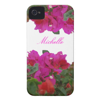 Pretty Pink Flowers Case-Mate Case iPhone 4 Case-Mate Case