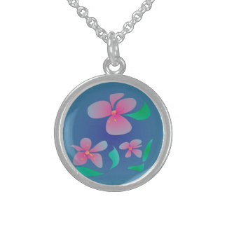Pretty Pink Flowers > Girls Necklaces