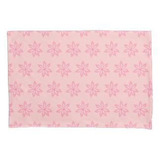 Pretty Pink Fun Modern Flower Pattern Pillowcase