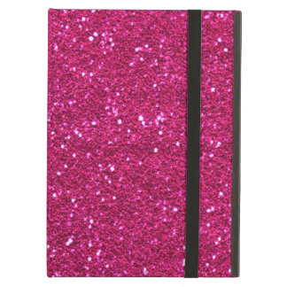 Pretty pink glitter iPad Air Case