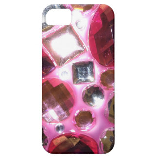 Pretty Pink Jewel Bling iPhone 5 Cases
