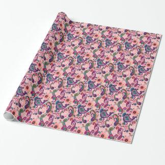 Pretty Pink Paisley Pattern
