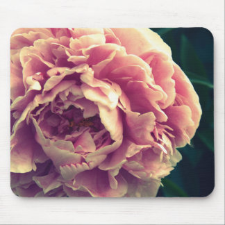 Pretty Pink Peony Mouse mat