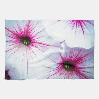 Pretty Pink Petunias Tea Towel