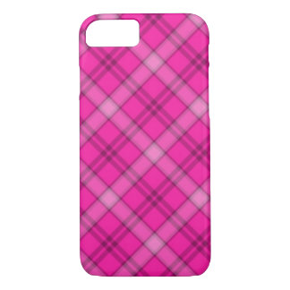 Pretty Pink Plaid iPhone 8/7 Case