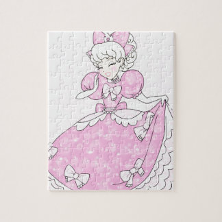 Pretty Pink Princess Jigsaw Puzzle