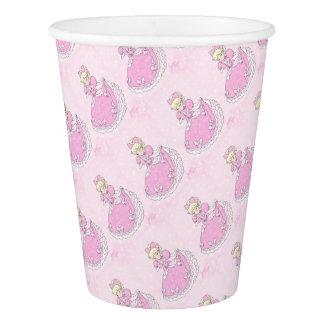 Pretty Pink Princess Paper Cup