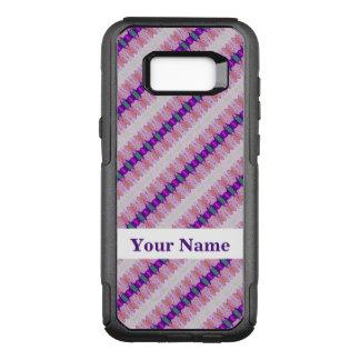 Pretty Pink Purple Pattern Design OtterBox Commuter Samsung Galaxy S8+ Case