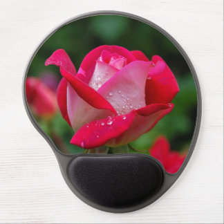 Pretty Pink Rose Mousepad Gel Mouse Pad
