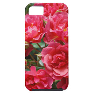 Pretty pink roses print iphone case