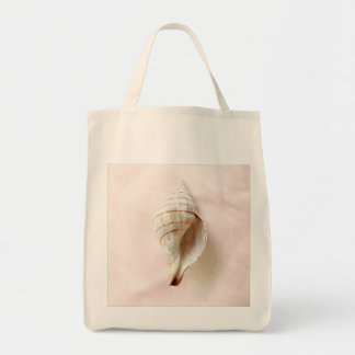 Pretty Pink Seashell Organic Tote Bag