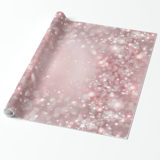 Pretty Pink Sparkle Wrapping Paper