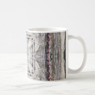 Pretty Pink Tinged Aztec Inspired Pattern Coffee Mug