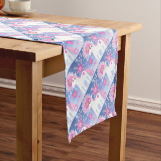 Pretty Pink Unicorn Table Runner