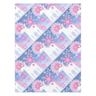 Pretty Pink Unicorn Tablecloth