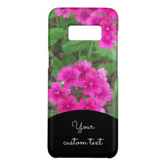 Pretty pink verbena flowers floral photo Case-Mate samsung galaxy s8 case