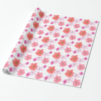 Pretty Pink Watercolor Floral