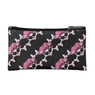 Pretty Pirate Kitty Cosmetic Bags