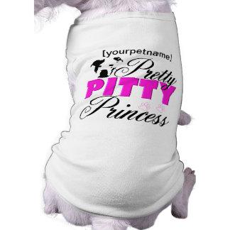 Pretty Pitty Princess Pitbull Shirt