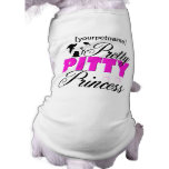 Pretty Pitty Princess Pitbull Shirt Sleeveless Dog Shirt