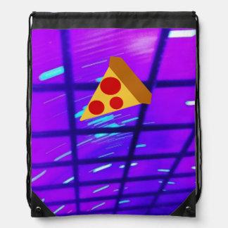 Pretty Pizza Drawstring Bag