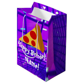 Pretty Pizza Medium Gift Bag