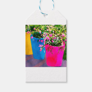 Pretty Plant Pots Gift Tags