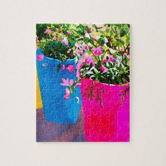 Pretty Plant Pots Jigsaw Puzzle