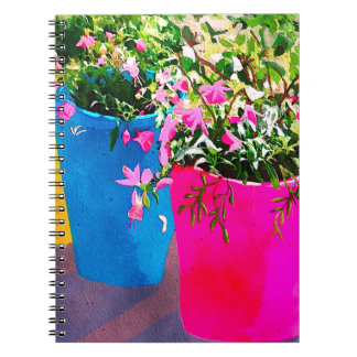 Pretty Plant Pots Notebook