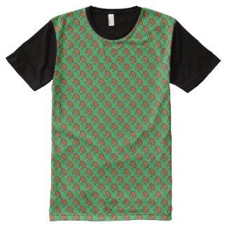 Pretty Poinsettia All-Over Print T-Shirt