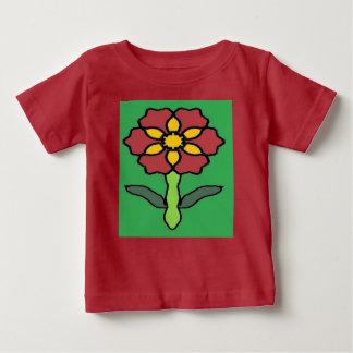 Pretty Poinsettia Baby T-Shirt