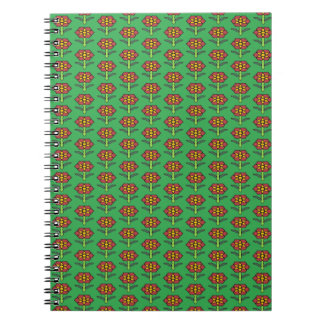 Pretty Poinsettia Notebook
