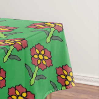 Pretty Poinsettia Tablecloth
