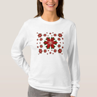 Pretty Poinsettias T-Shirt