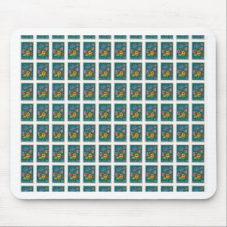 Pretty Poland Stamp Mouse Pad