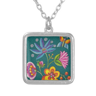 Pretty Polish Stamp Necklace
