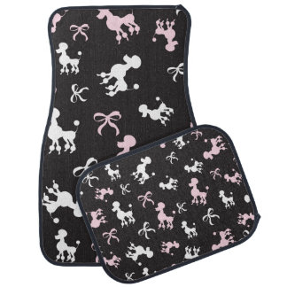 Pretty Poodle Chic Car Mat