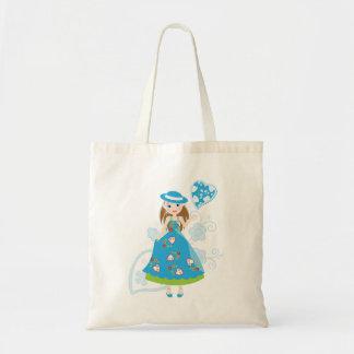 Pretty Portuguese Girl Canvas Bag