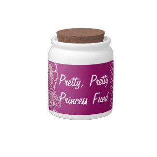 Pretty, Pretty, Princess Candy Jar