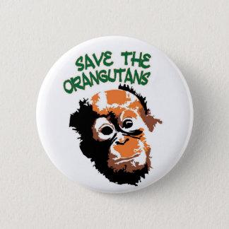 Pretty Primate 6 Cm Round Badge
