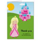 Pretty princess card