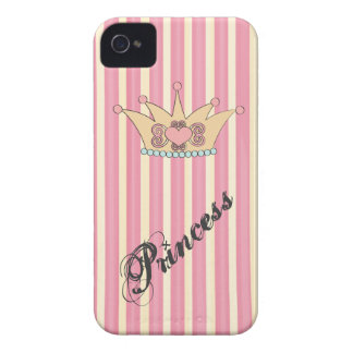 Pretty Princess Crown Blackberry Bold Case