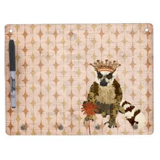 Pretty Princess Lemur Dry Erase Board