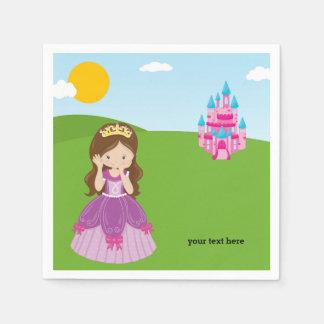 Pretty Princess Paper Napkins