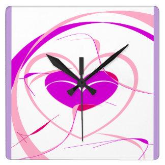 Pretty Princess Time Square Wall Clock
