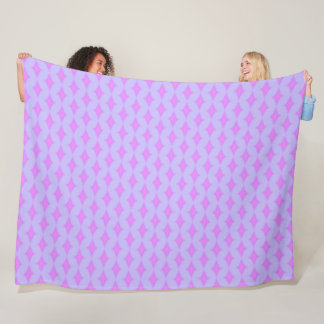 Pretty Princess unicorn Starry Night Satin Pattern Fleece Blanket