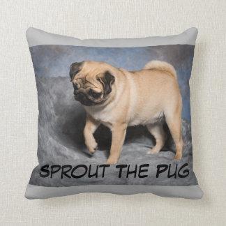 Pretty Pug Pillow