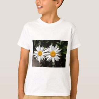 Pretty pure white daisy flowers T-Shirt